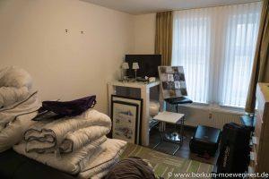 Strandvilla Möwennest Renovierung Wohnung 3 Mitten in der Renovierung